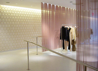 Tile for Stella McCartney store