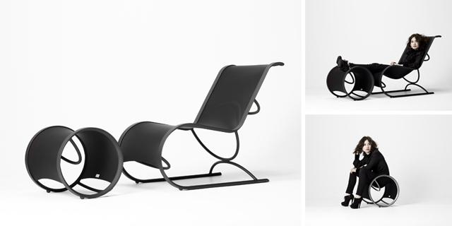 Hammock chair & ottoman